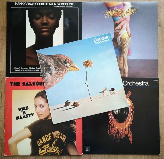 Various Artists/Bands in Soul - Multiple artists - Multiple titles - LP's - 1975/1976