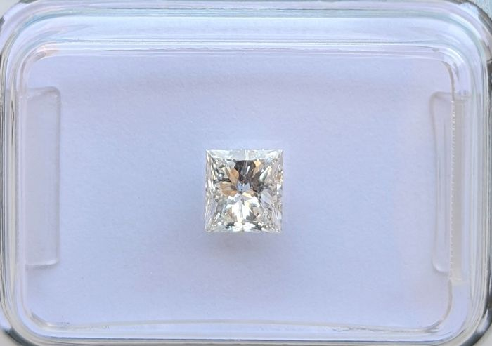 Diamant - 0.47 ct - Prinzess - F - SI1