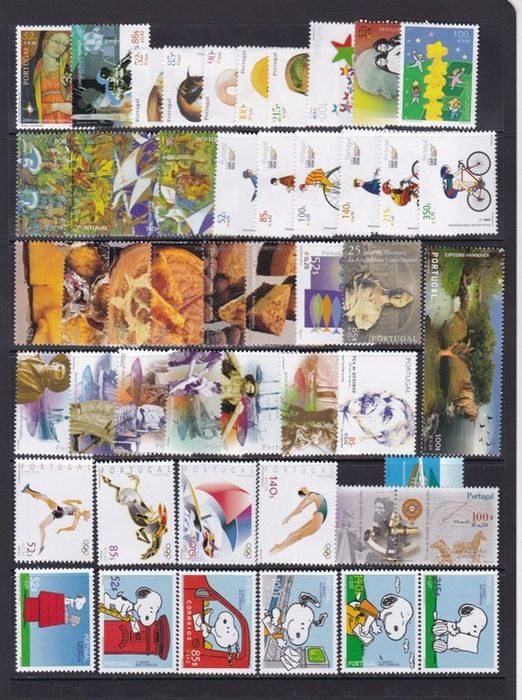 Portugal 2000/2004 - Collection of sets