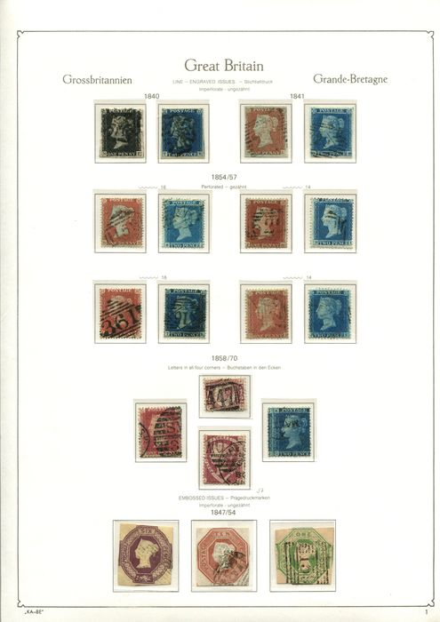 Großbritannien 1840/1951 - Complete main collection England - Stanley Gibbons