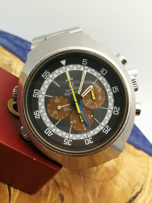 Omega - Flightmaster - Tropical Dial - 145.036 - Uomo - 1970-1979