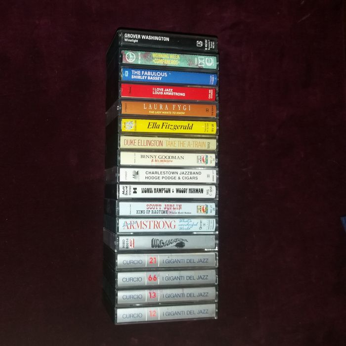 Various Artists/Bands in Jazz - Multiple artists - Multiple titles - Cassette - 1972/1994