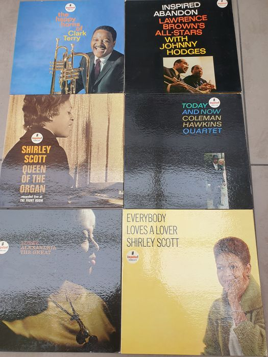 Various Artists/Bands in Jazz - Multiple artists - All on impulse! Records - Multiple titles - LP's - 1963/1965