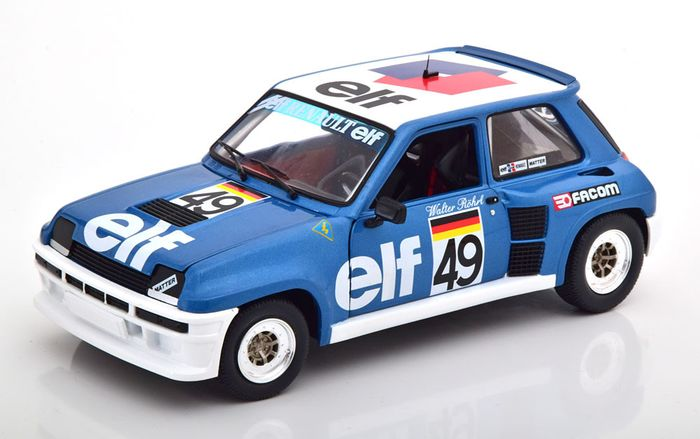 Solido - 1:18 - Renault 5 Turbo No 49 European Cup 1981  - Röhrl