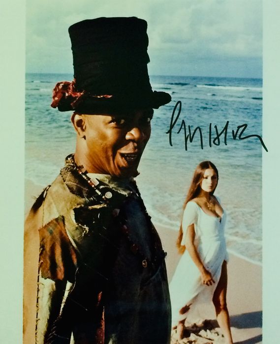 James Bond - Live and let Die - Geoffrey Holder (Baron Samedi) - Autograph, Photo, Signed with COA