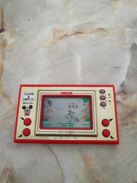 1 Nintendo Game and Watch Mickey Mouse MC-25 - Console - Without original box