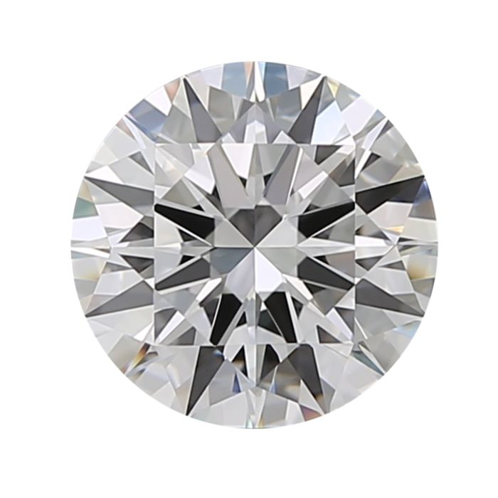 1 pcs Diamond - 1.00 ct - Round - D (colourless) - IF (flawless)