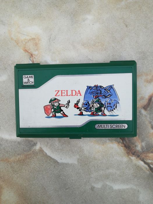 1 Nintendo Zelda Game and Watch ZL-65 - Console - Without original box