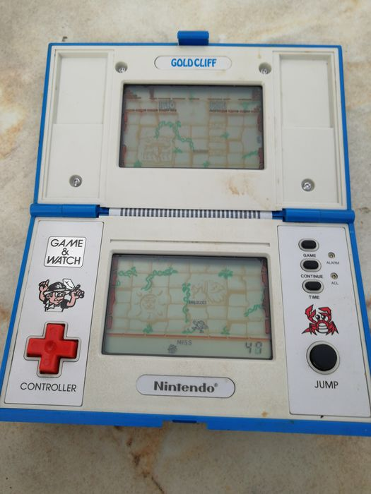 1 Nintendo Game and Watch Goldckiff MV-64 - Console - Without original box