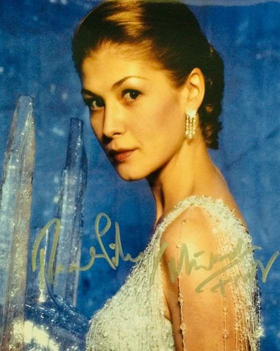 James Bond - Die Another Day - Rosamund Pike as Miranda Frost  - Autograph, Photogrph, Signed with COA