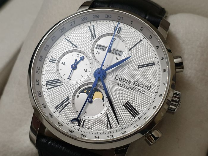 Louis Erard - Excellance Moonphase Chronograph - Ref. 80 231 - Men - 2011-present