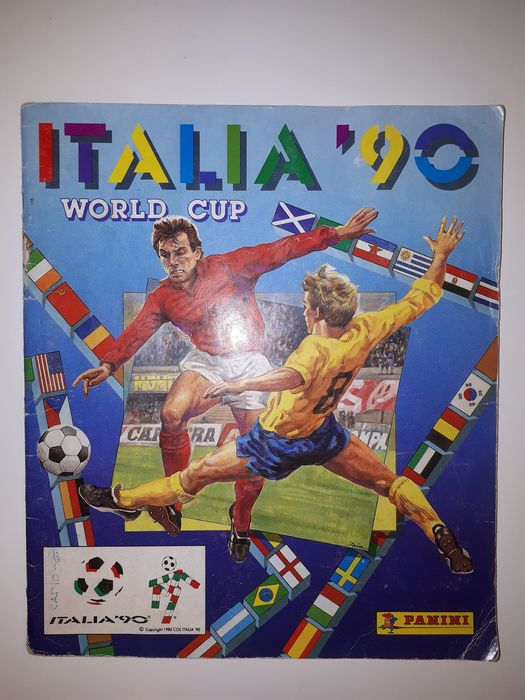 Panini - World Cup Italia 90 - Compleet album