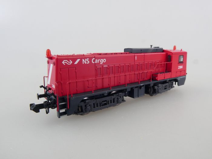 Piko N - 40441 - Diesel locomotive - Series 2200, NS Cargo red livery - NS