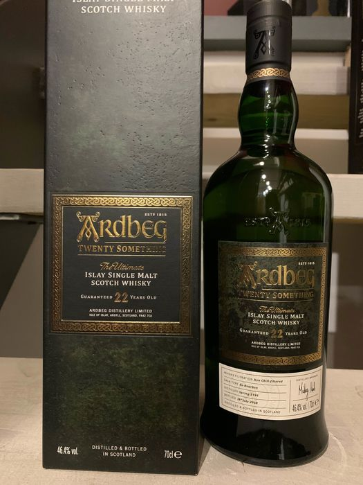 Ardbeg 22 years old Twenty Something - Original bottling - 70cl