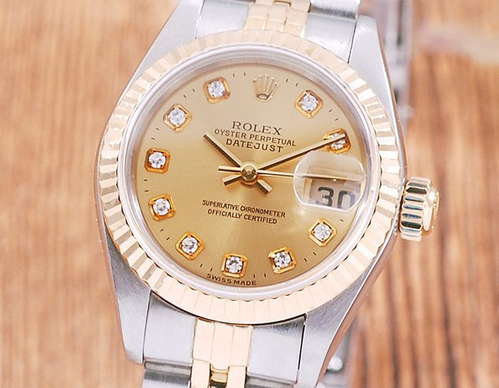 Rolex - Oyster Perpetual DateJust  - 79173G - Donna - 2000-2010