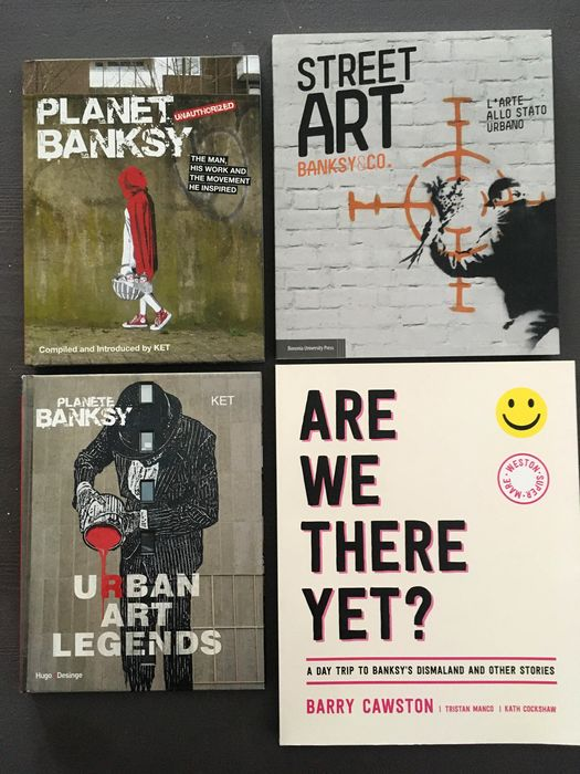 Banksy & others - Planet Banksy / Planete Banksy Urban Art Legend / Street Art Banksy&Co. / Are We There Yet? - 2014/2016