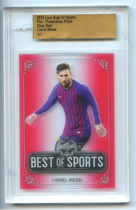 FC Barcelona - Football - Lionel Messi - 2019 - Sports Trading Card 1/1