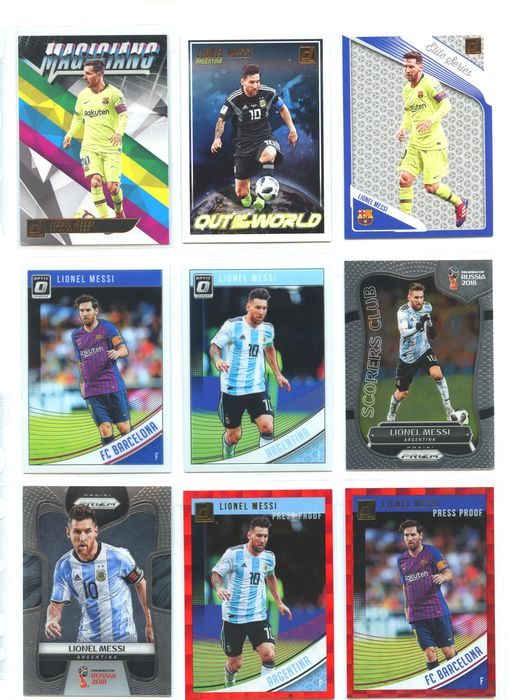 FC Barcelona - Argentina - Football - Lionel Messi - 2018 - Sports cards