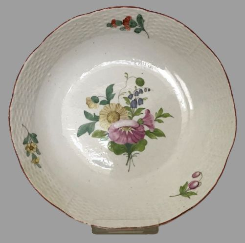 Imperial Porcelain Factory St Petersburg Russia - Bowl, from Catherine the Great service - Porcelain