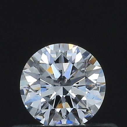 1 pcs Diamond - 0.33 ct - Round - D - VS2