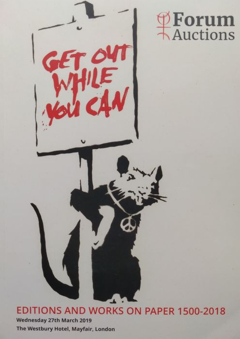 Banksy e.a. - Get out While you Can - 2019