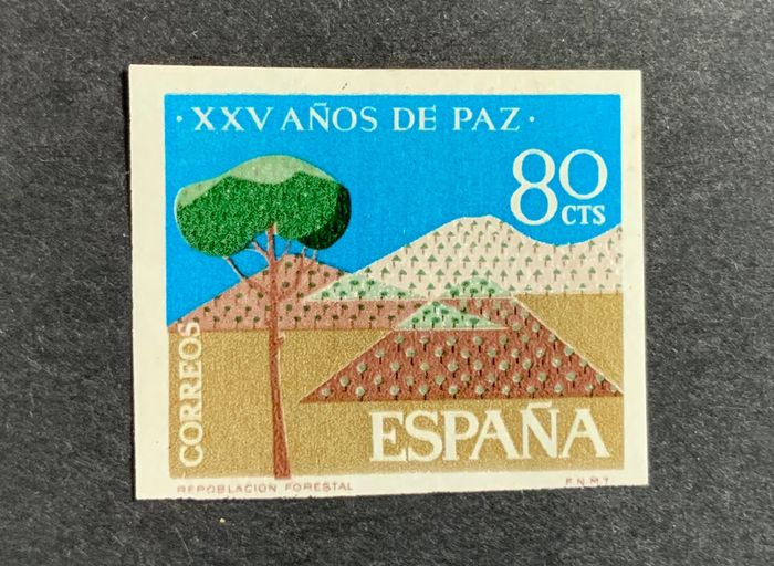 Spanien 1964 - Years of Spanish Peace, imperforated - Edifil 1581s