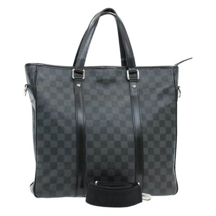 Louis Vuitton - Damier Graphite Tadao Handbag