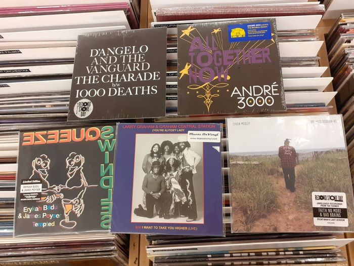 Various Artists/Bands in Hip-Hop/ R&B, Various Artists/Bands in Soul - Multiple artists - Great Record Store Day Singles    D'Angelo, Andre 3000, Badu and more    Mint & Sealed - Multiple titles - 45 rpm Single, Limited edition - 2013/2019