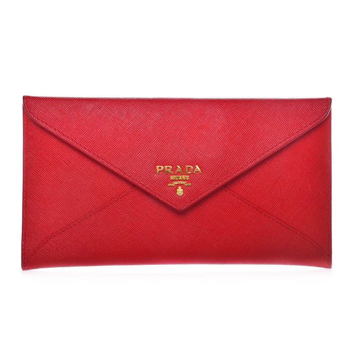 Prada - Metal Envelope Wallet