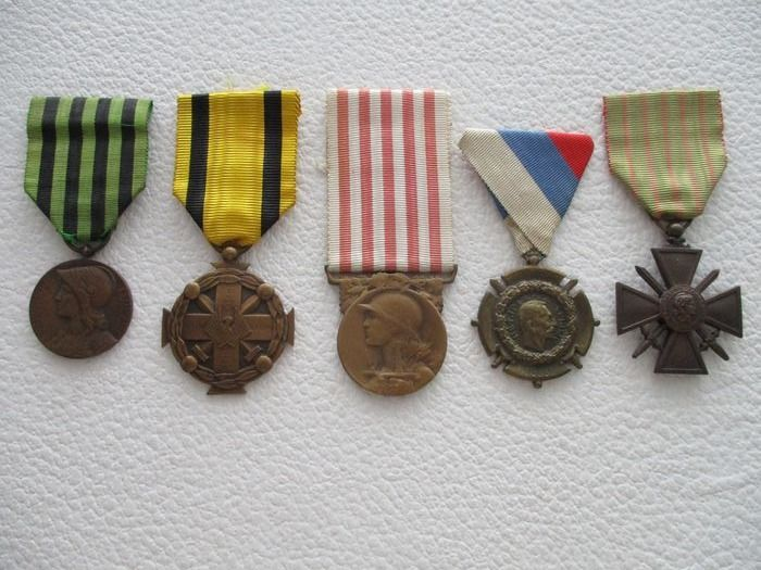 Various Countries - medals, including World War I - Medaille