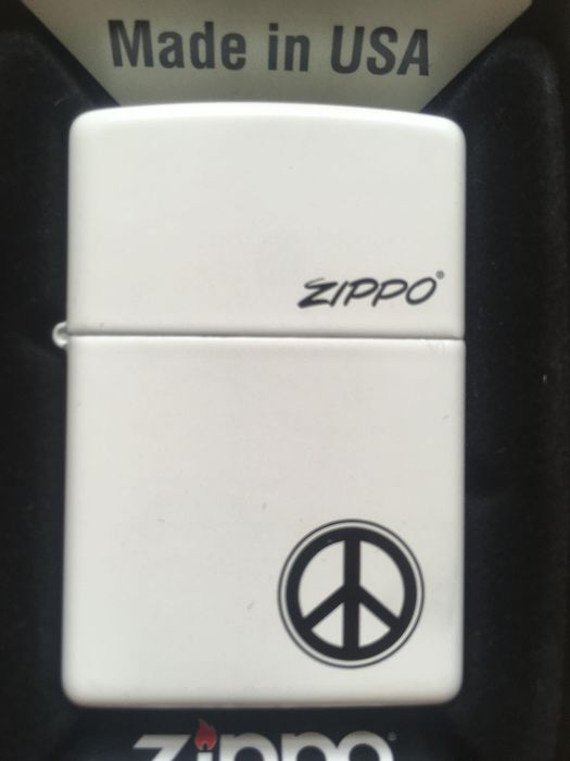 Zippo - Lighter - Peace Sign LIMITED EDITION of 1