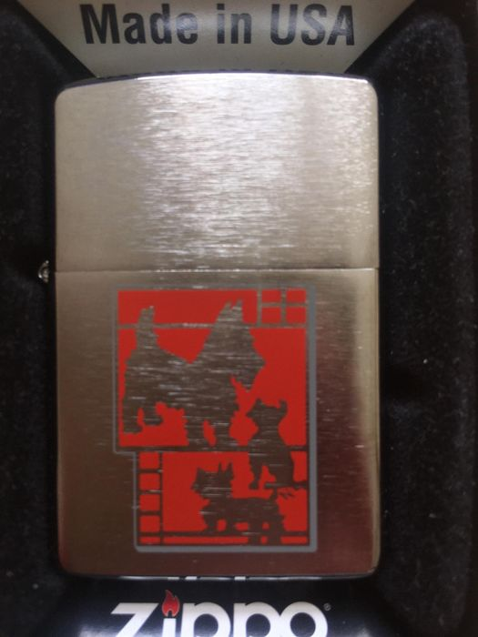 Zippo - Lighter - Scottie LIMITED EDITION of 1