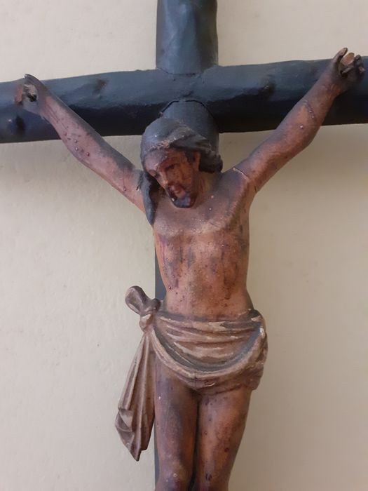 Crucifix (1) - Wood - 19th century