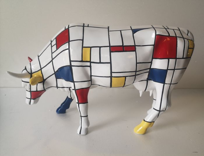 Jon Eastman voor Cowparade - Cow Parade Large, Holdings Corporation - Skulptur (1) - Polyresin