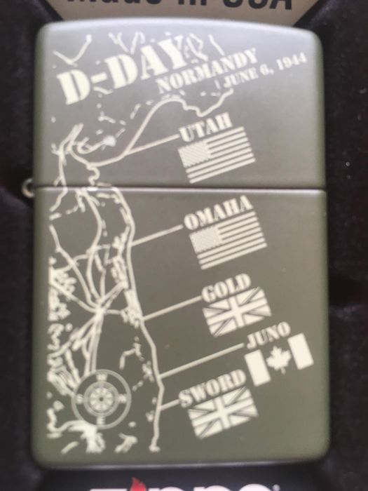 Zippo - Lighter - D-Day LIMITED EDITION of 1