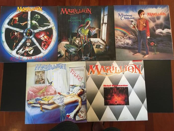 Marrilion - Multiple titles - LP's - 1983/1986