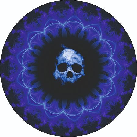 "Kanada - 5 Dollar 2020 – Maple Leaf ""Blue Ring Skull "" - 1 Oz - Silber"
