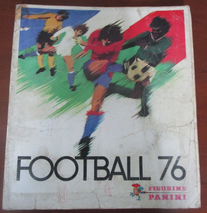 Panini - Football 76 France , 1° division - Compleet album - 1976