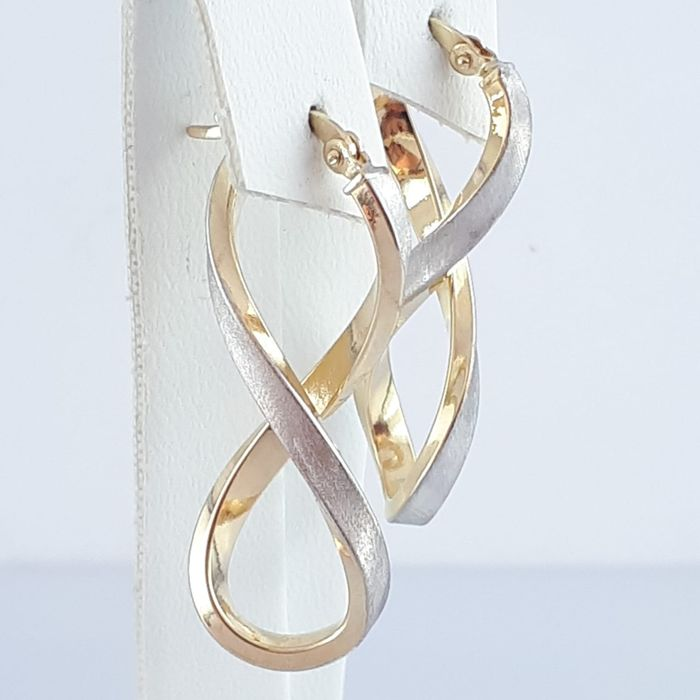 14 kt. Gold - Earrings