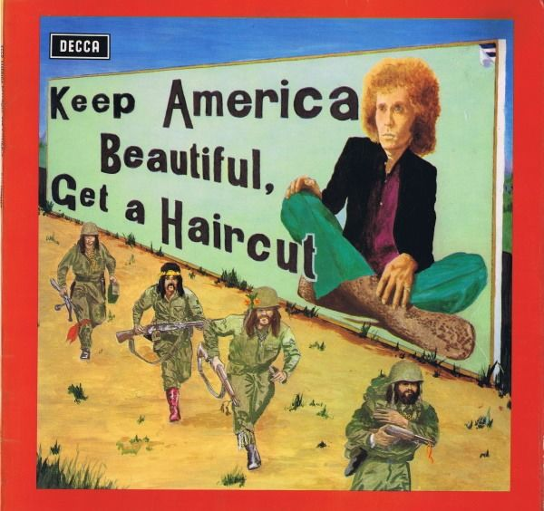 Ray Fenwick - Keep America Beautiful, Get A Haircut (Pop Rock, Prog Rock) - LP Album - 1971/1971