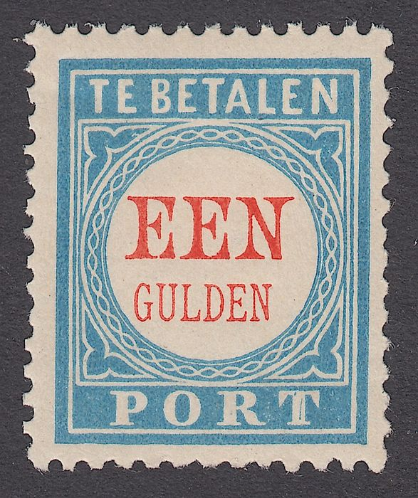 Netherlands 1881 - Postage due stamp - NVPH P12