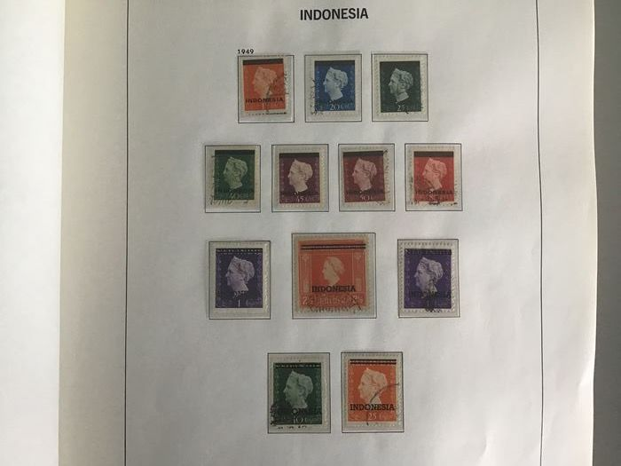 Indonésie 1949/1985 - Collection of blocks and stamps