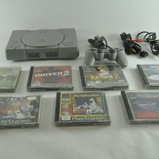 Sony, Sony Playstation 1 Console 7 Games Set Playstation - Konsole mit Spielen