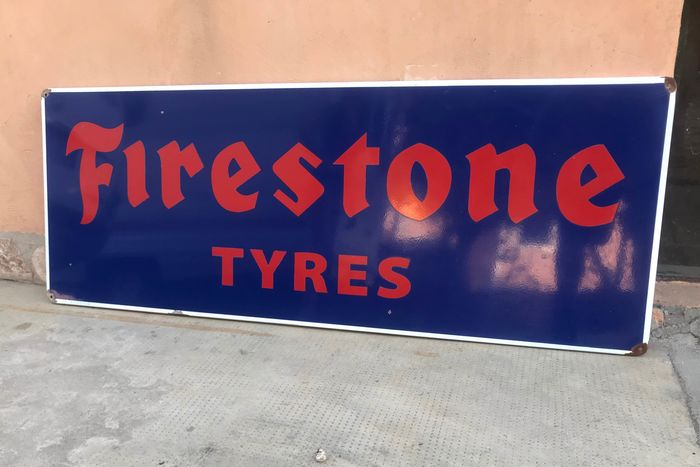 Advertising sign - Firestone - 1980-1990
