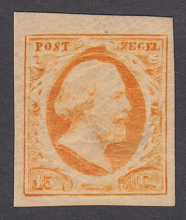 Niederlande 1852 - King Willem III - NVPH 3