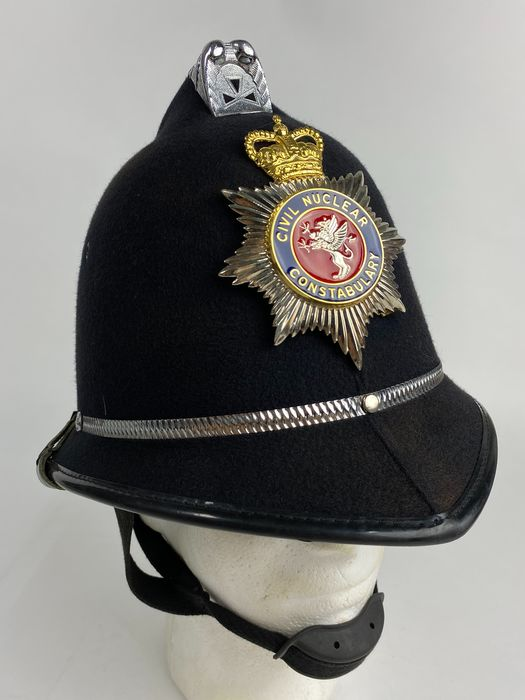 United Kingdom - Police Corps - Bobby Civil Nuclear Constabulary Helmet - 1987