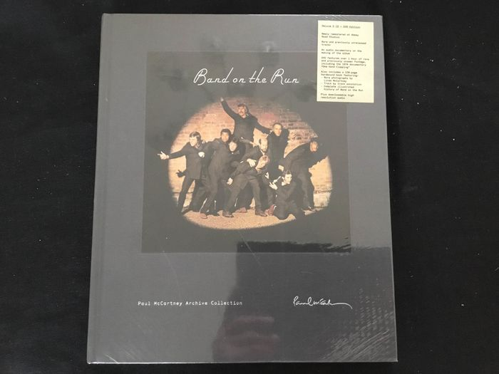 "Paul McCartney - ""Band on the Run""- Deluxe Edition - CD Box set - 2010/2010"