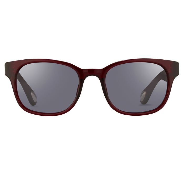 "Ann Demeulemeester - Sunglasses Rectangular Bordeaux Red 925 Silver with Blue Lenses AD15C8SUN ""NO RESERVE PRICE"" Sunglasses"