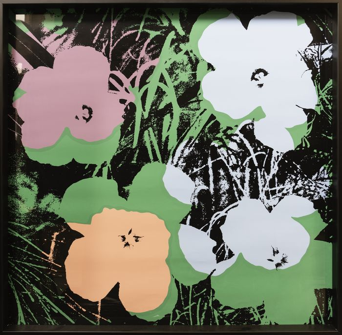 After Andy Warhol - Flowers
