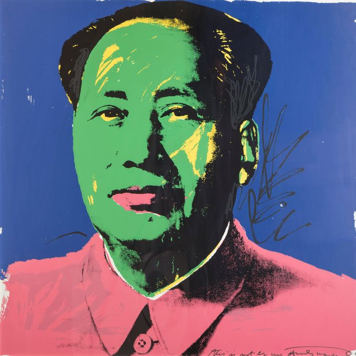 After Andy Warhol - Mao Tse Tung